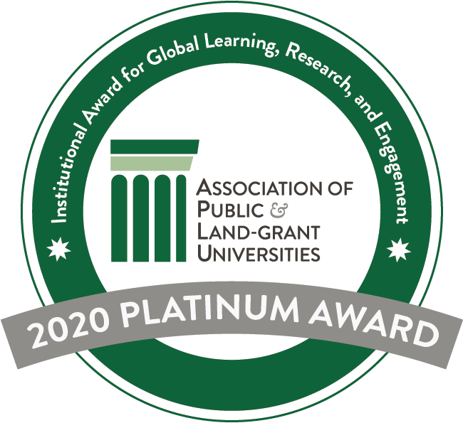 APLU Platinum Award Seal