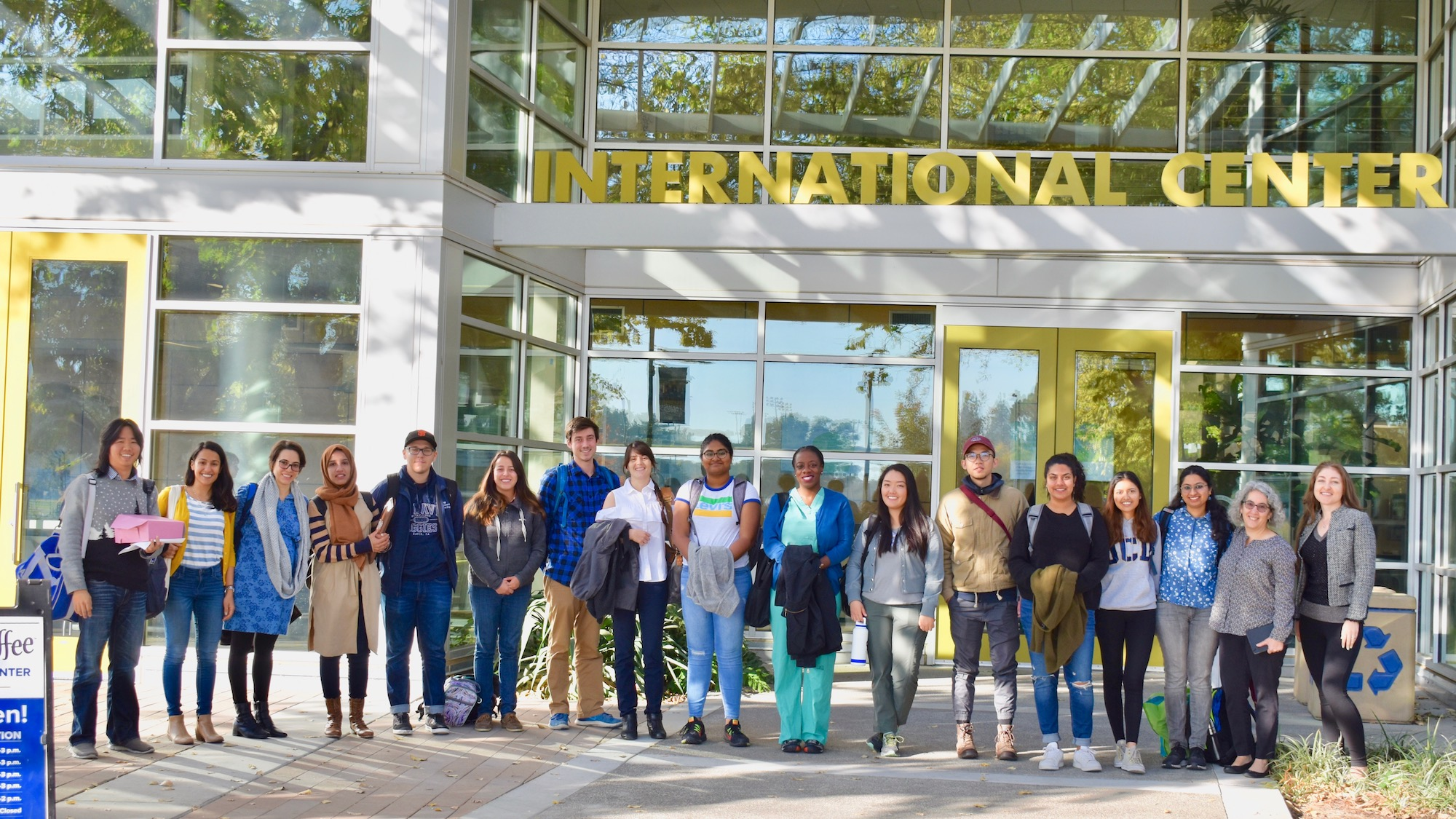 Global Education for All Fellows outside International Center