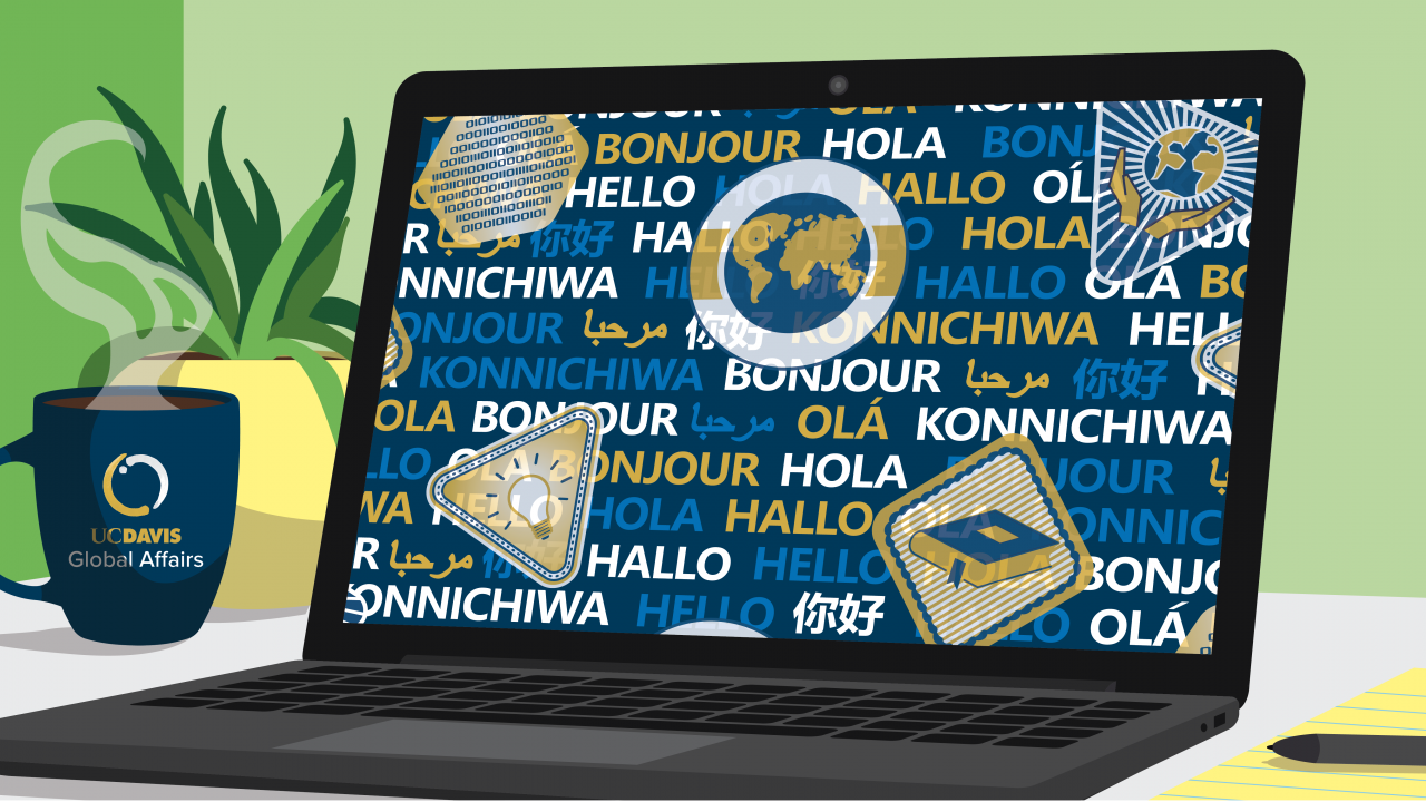 Laptop with global learning
