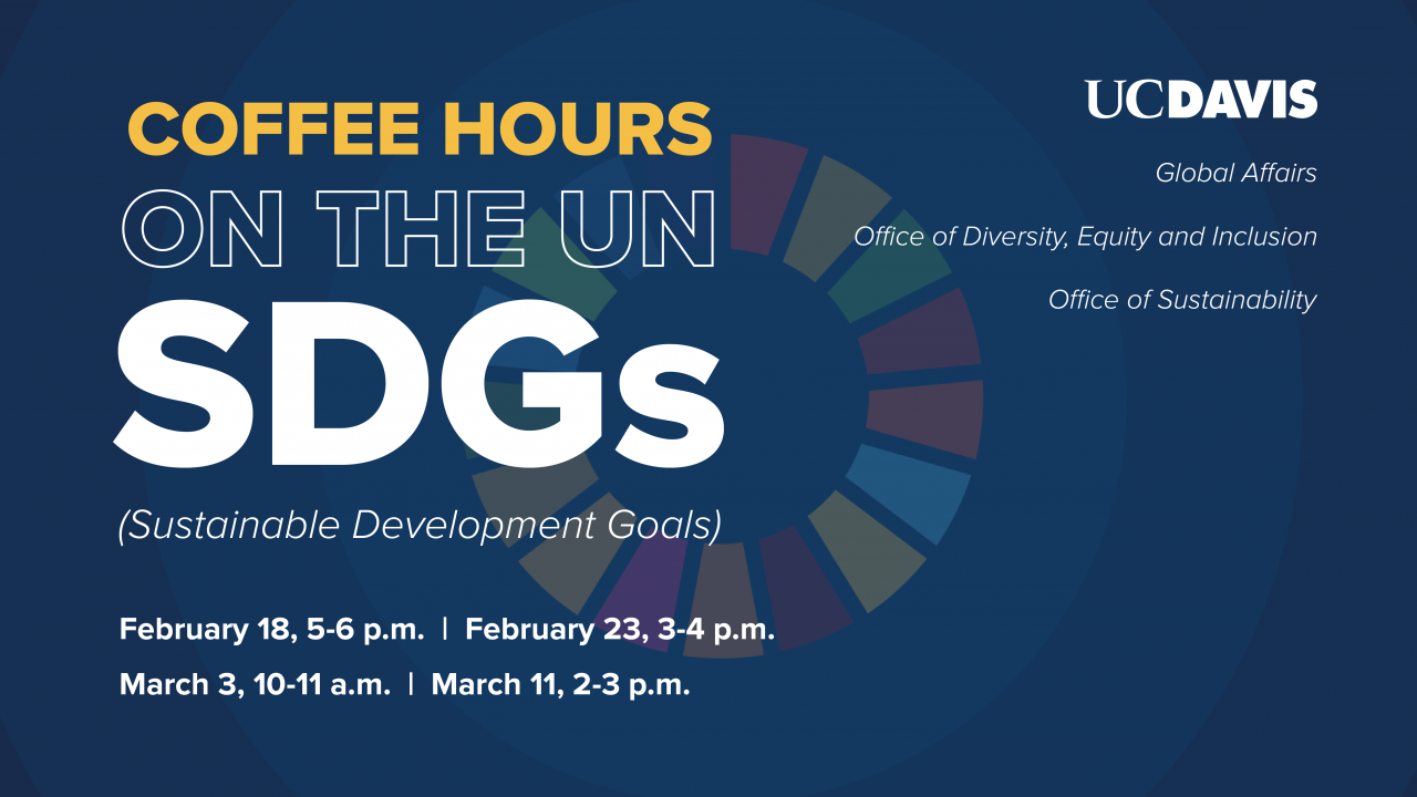 Coffee Hours on the SDGs graphic