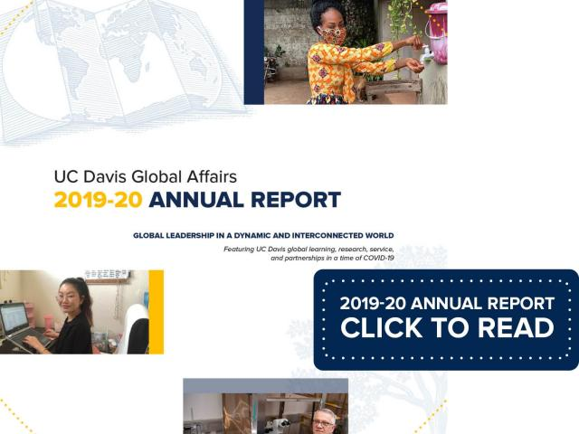 2019-20 Annual Report Cover. Click to Read.