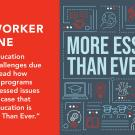 IIE Networker magazine graphic with More Essential Than Ever text