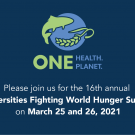 Universities Fighting World Hunger graphic
