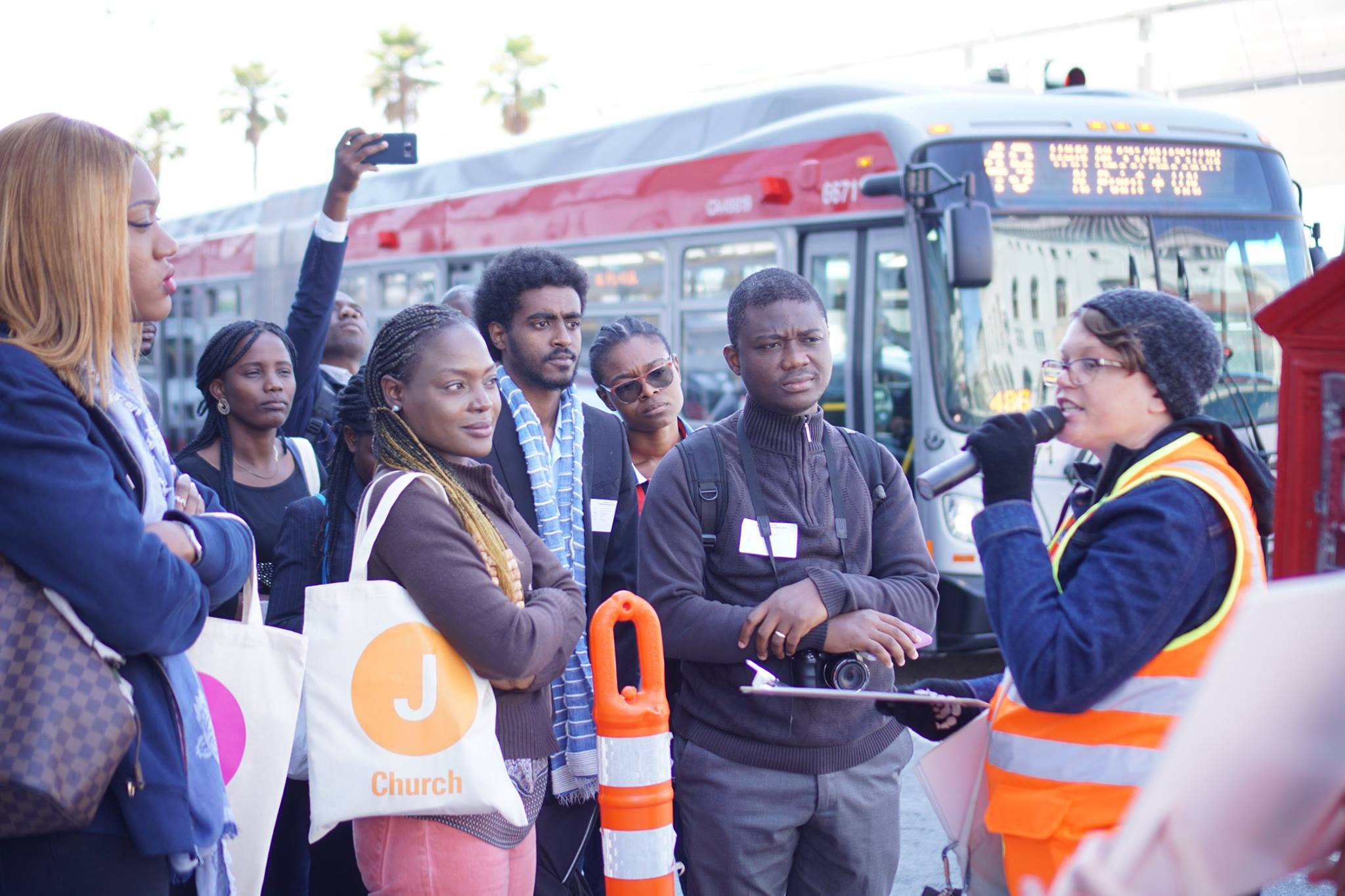 Mandela Fellows in San Francisco