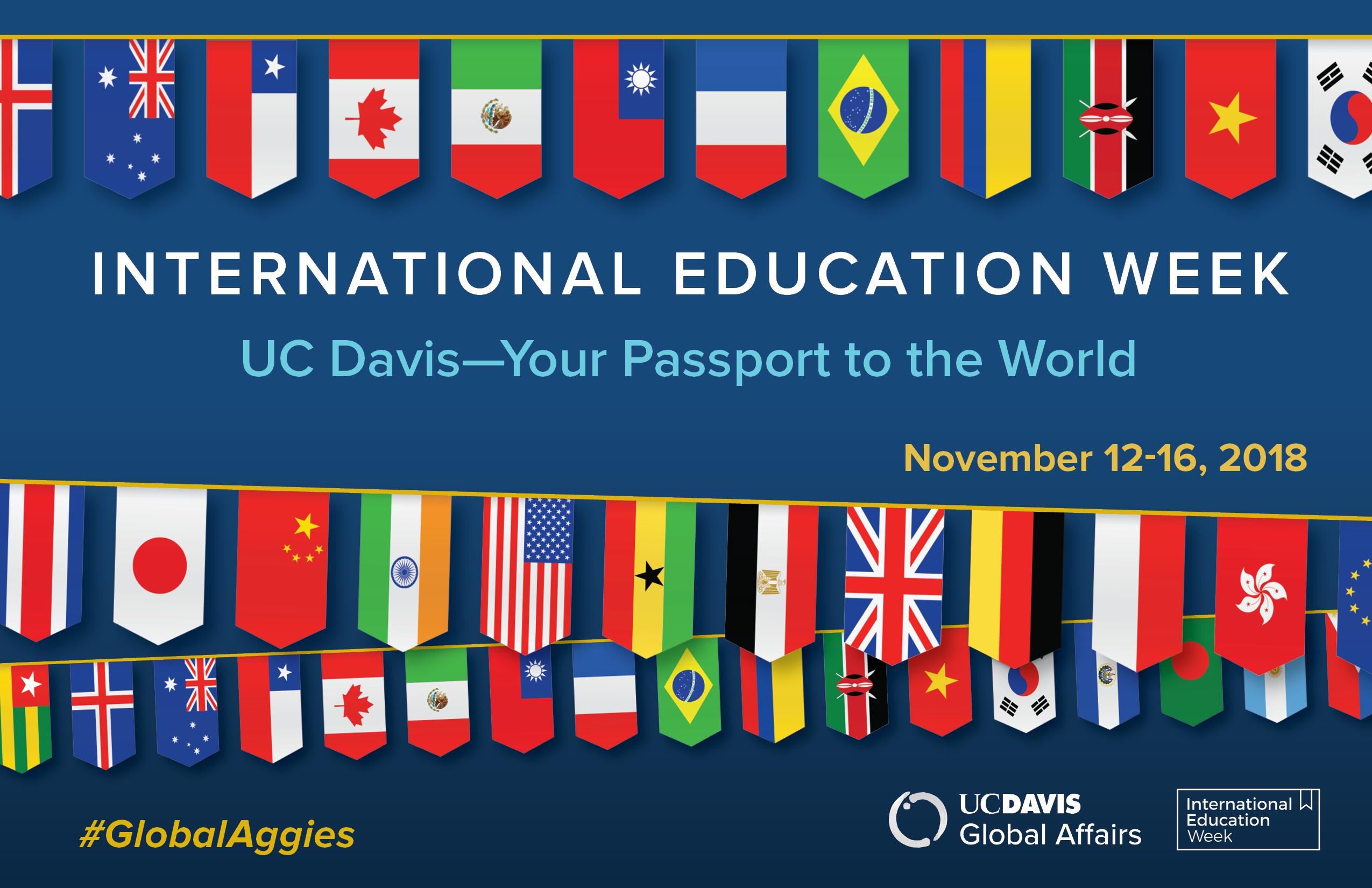 What is International Education Week?