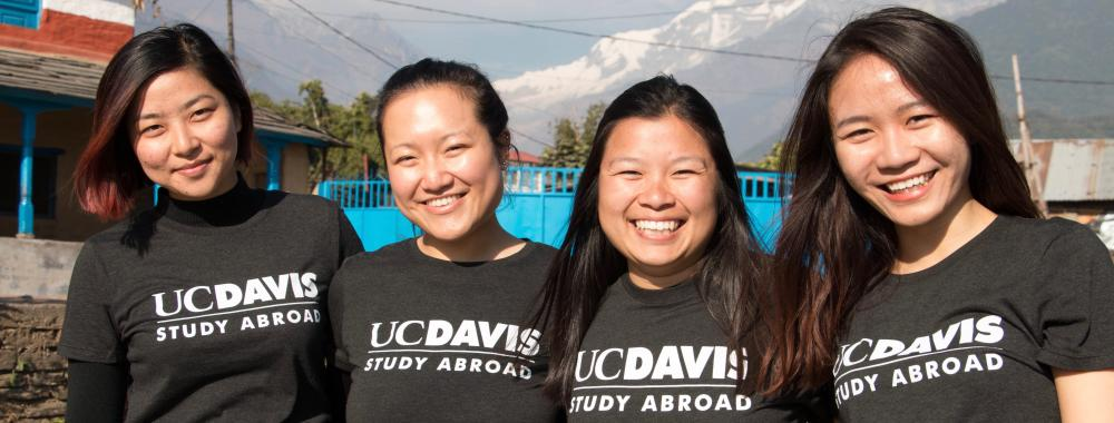 Global Affairs Study Abroad Students