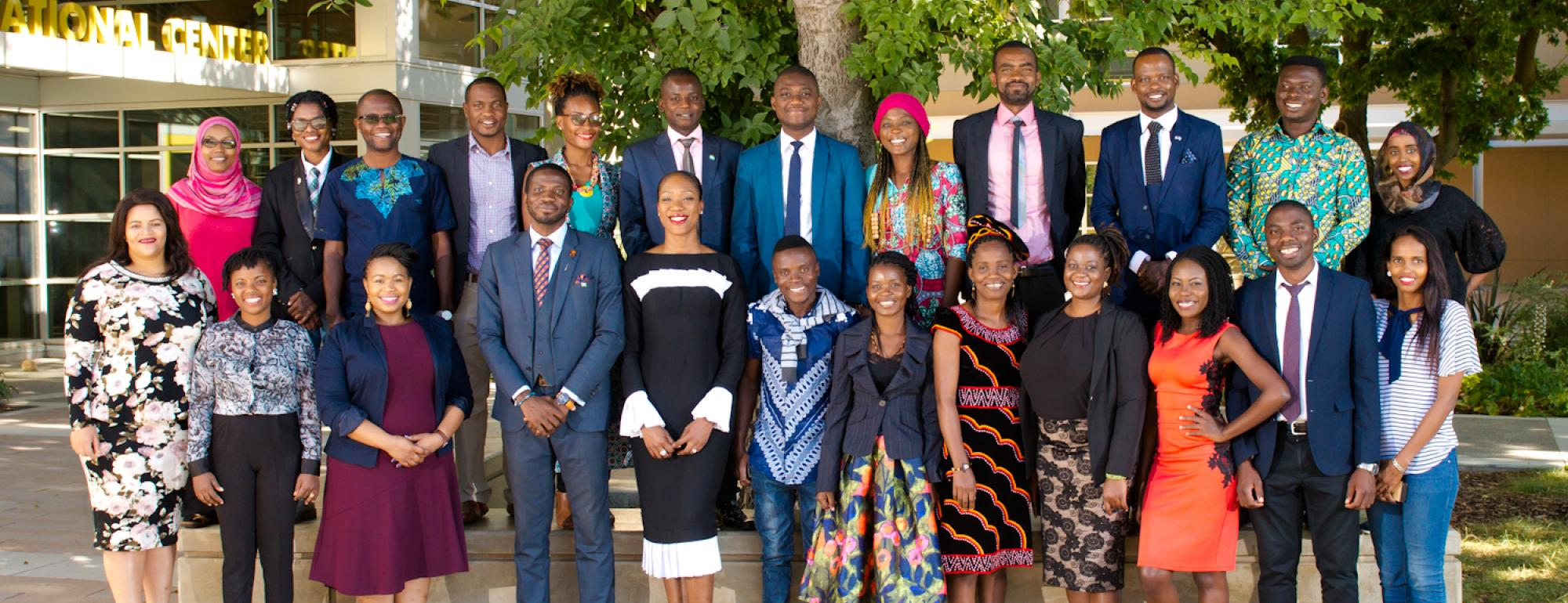 2018 Mandela Fellows