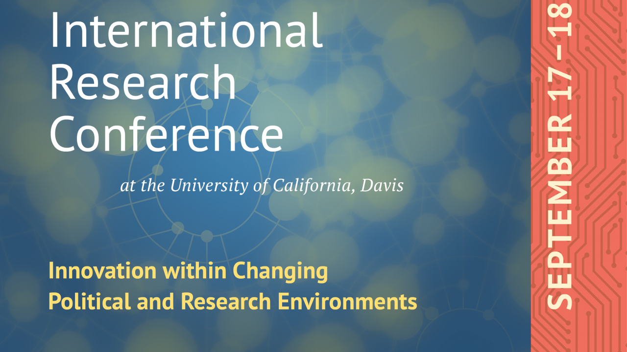 UC Davis Global Affairs Conference