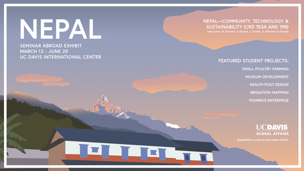 Nepal Exhibit March 12- June 25