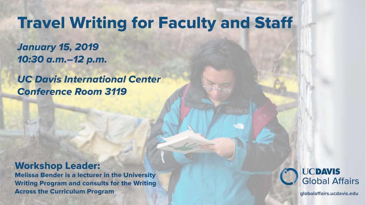 Faculty writing in field