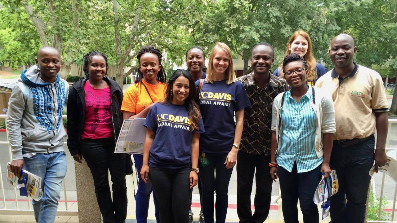 Mandela Fellows at UC Davis