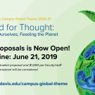 Campus Global Theme Call for Proposals