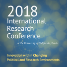 Conference logo September 17-18 2018 International Research Conference