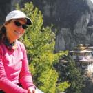 Beardsley has climbed seven times to Bhutan's Taktsang, a monastery that clings to a cliff 10,000 feet above sea level.