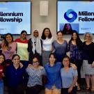 Group photo of Millennium Fellows