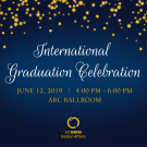 international graduation celebration invitation