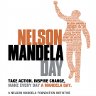 Nelson Mandela Day. Take Action, Inspire Change