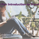 Writing Workshop Study Abroad Student