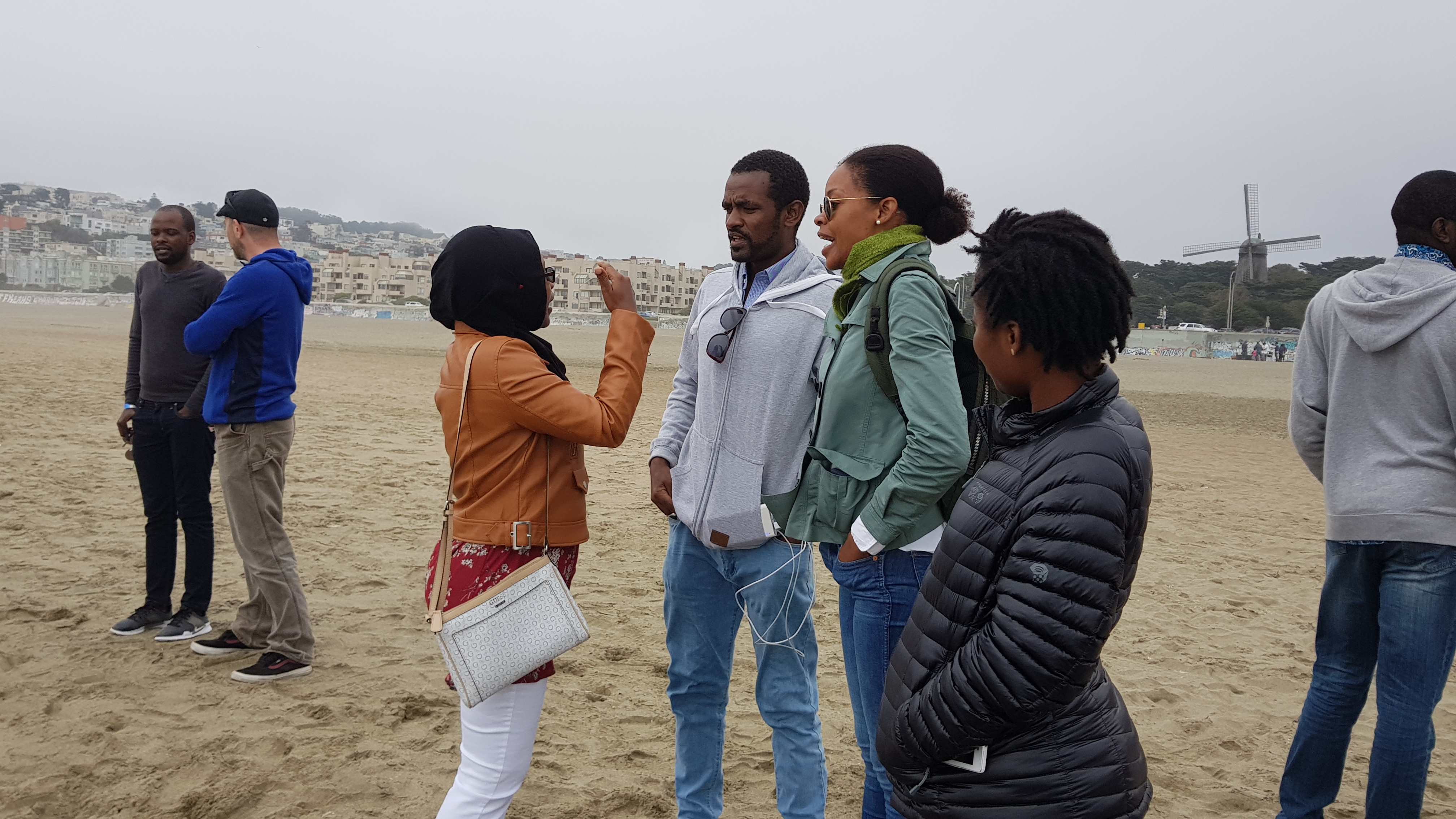 DiscussionatBeach