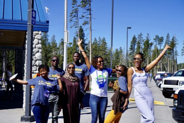UC Davis Mandela Fellows at Lake Tahoe