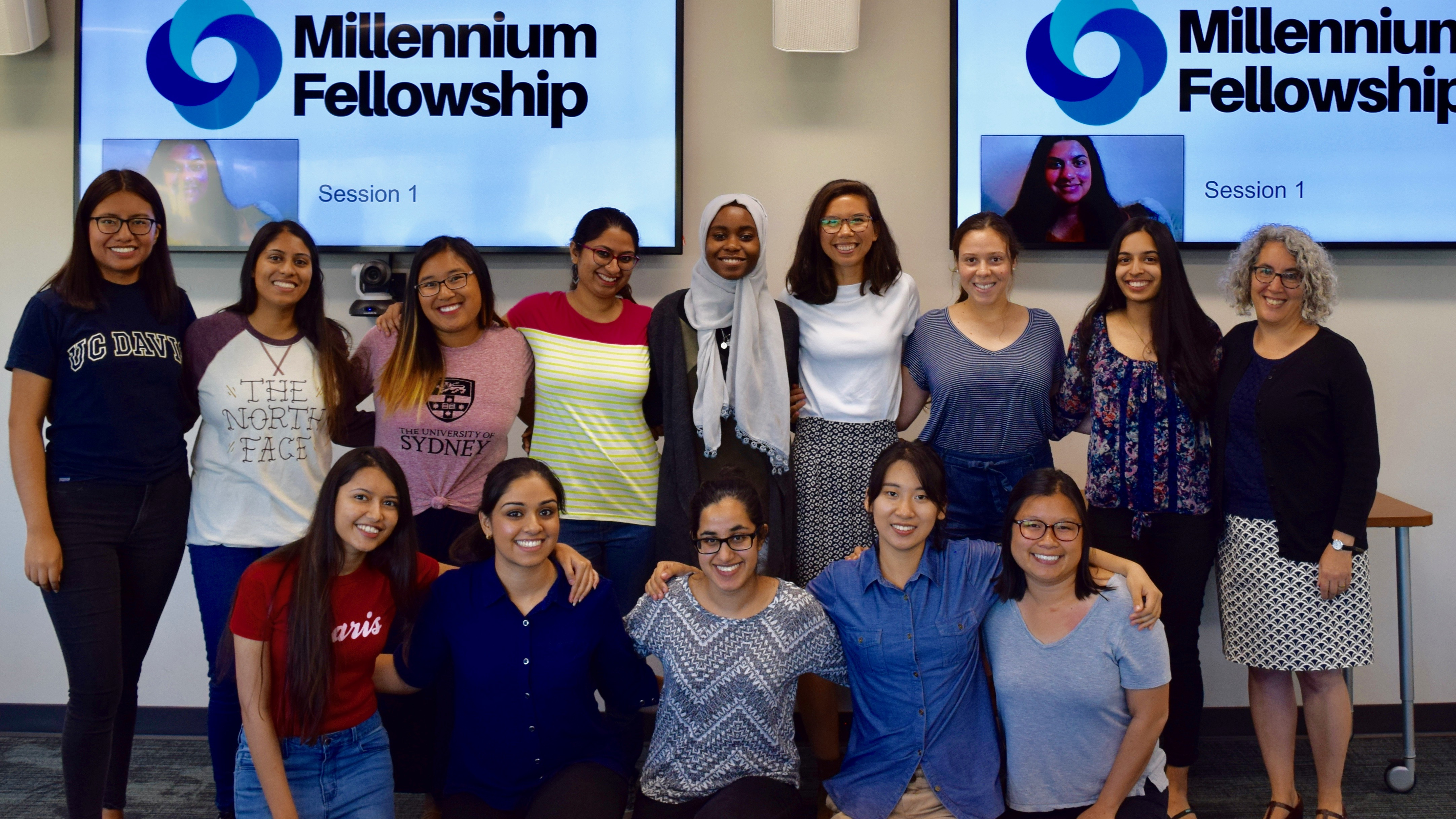 Millennium Fellows group photo