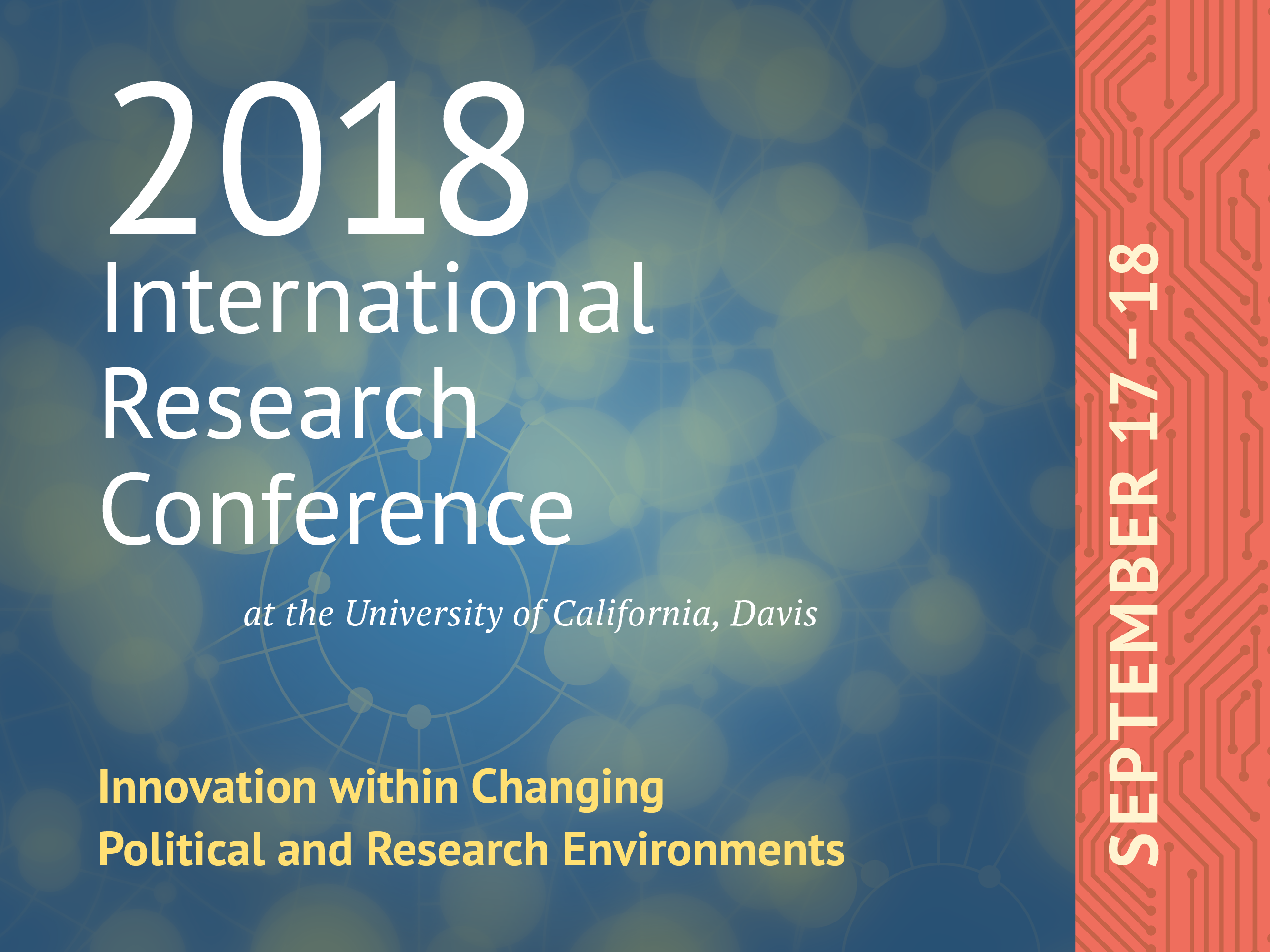 2018 International Research Conference at UC Davis | Global