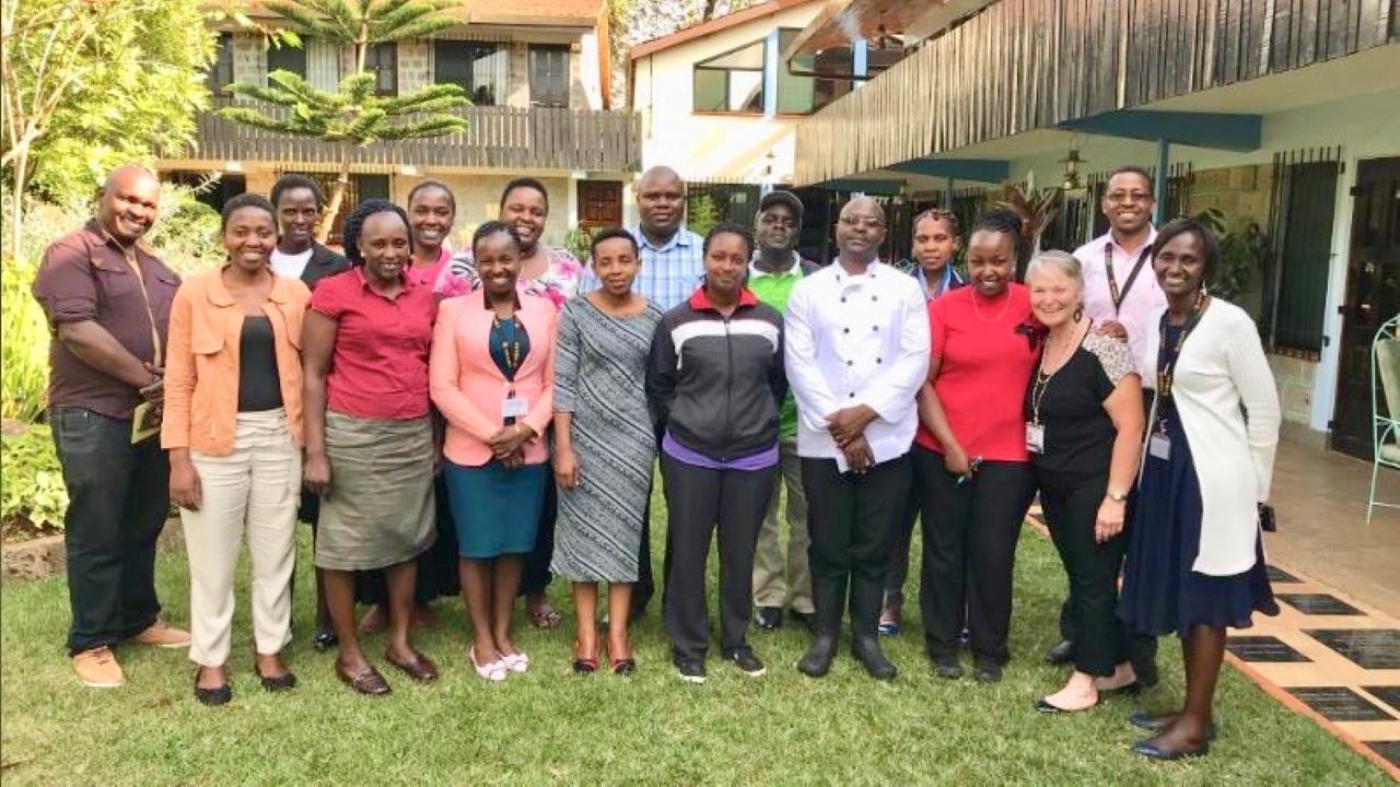 Young Leaders Presentation as UCD Global Faculty Ambassador , HEART Lodge, Nairobi, Kenya, 2018