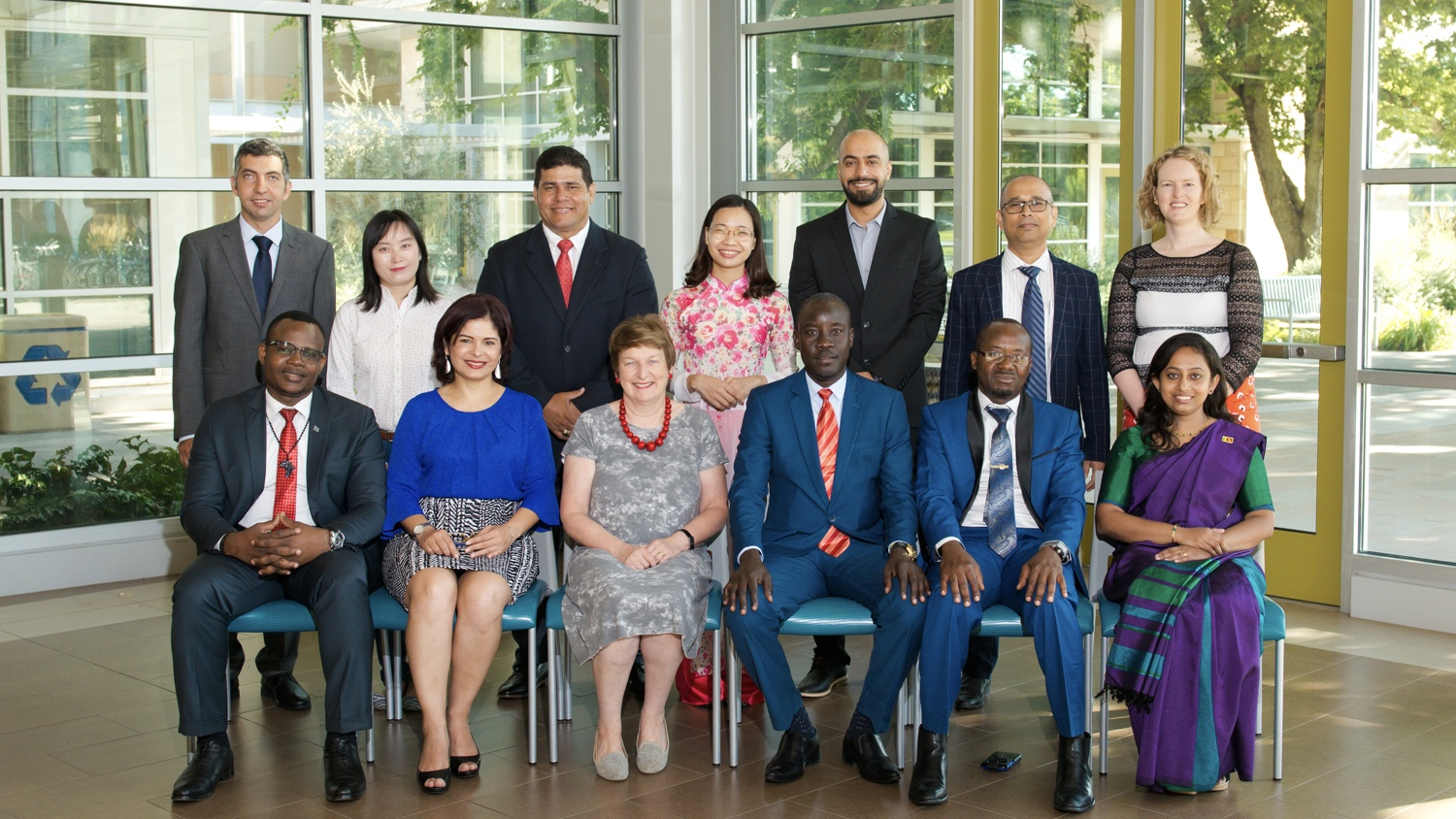 Humphrey Fellows 2019-20 group photo