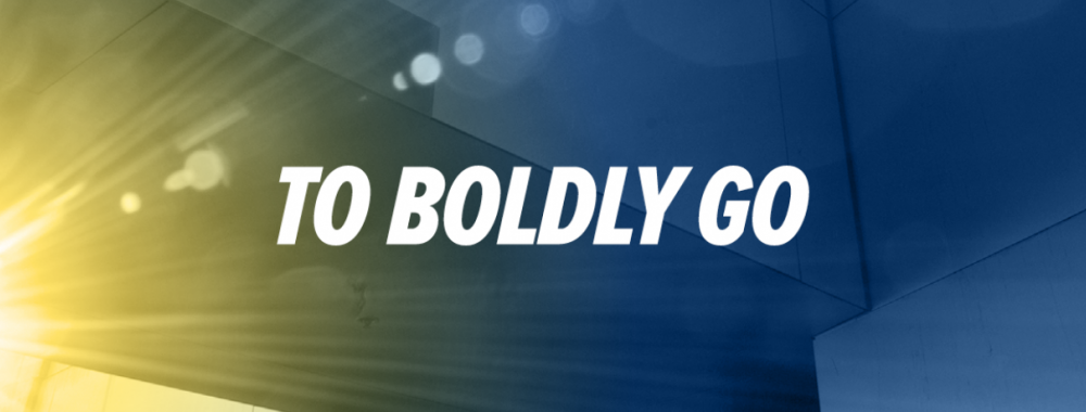 To Boldly Go Graphic