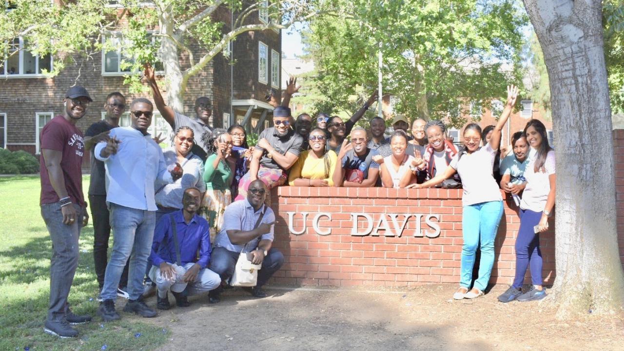 UC Davis Welcomes 24 Leaders from Sub-Saharan Africa ... Uc Davis Campus Tour