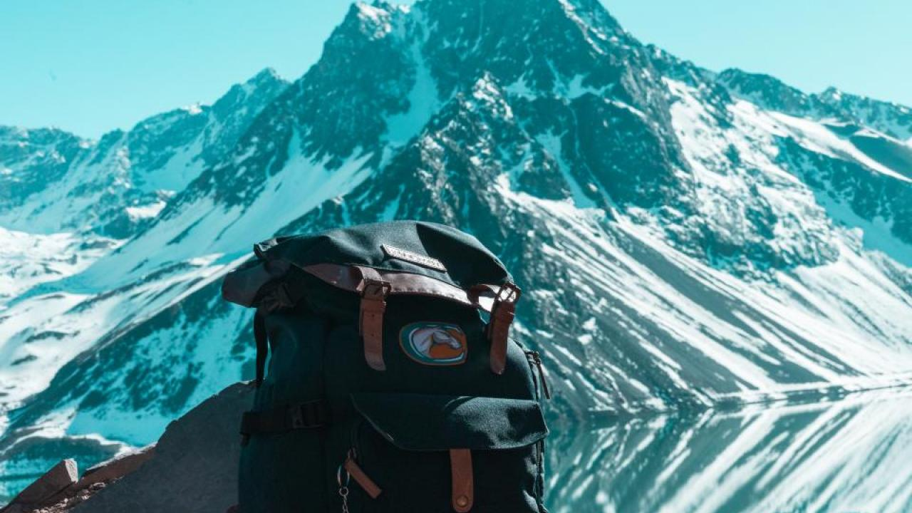 UC Davis student Vostok Bernal snapped this photo of the mountains of Cajón del Maipo in Chile. (Vostok Bernal)