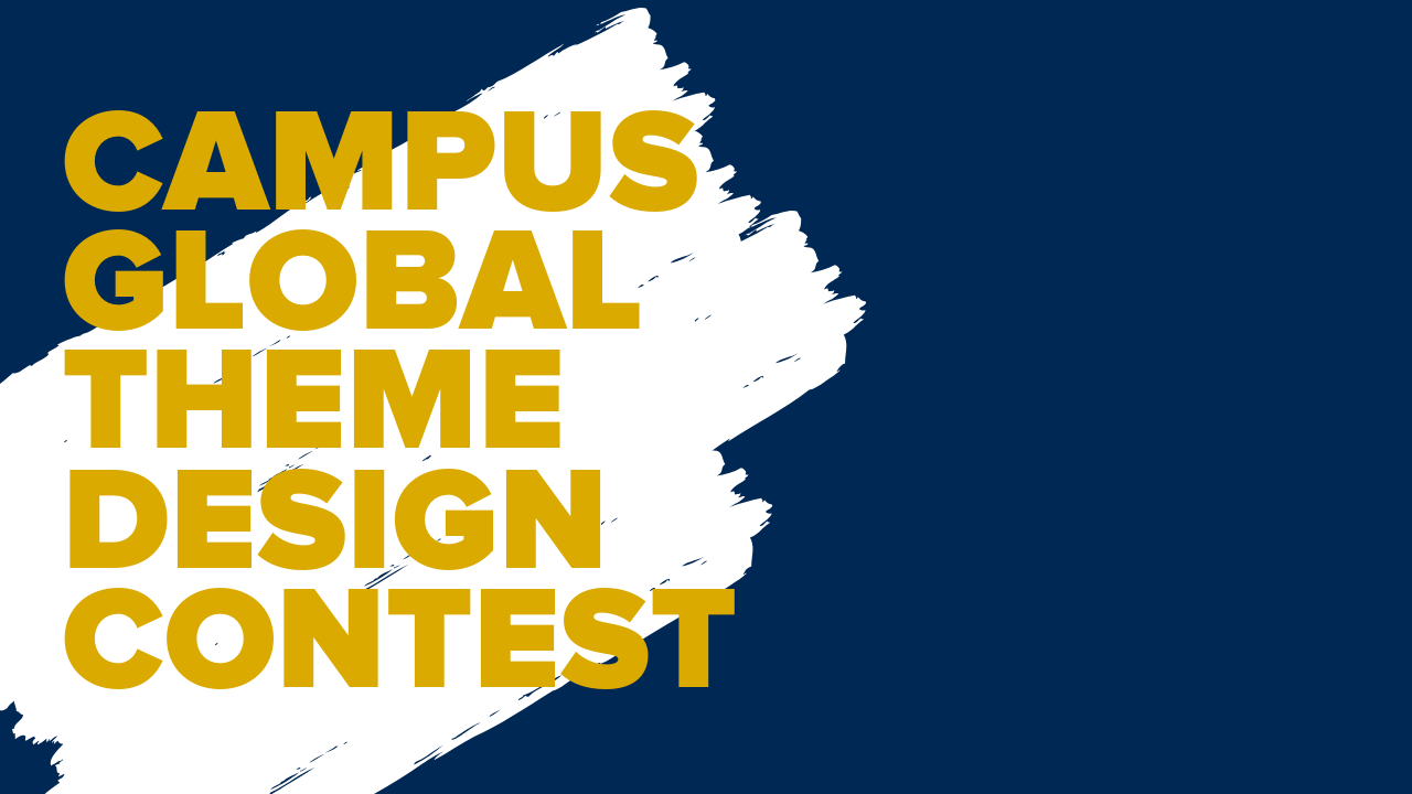 Campus Global Theme Design Contest