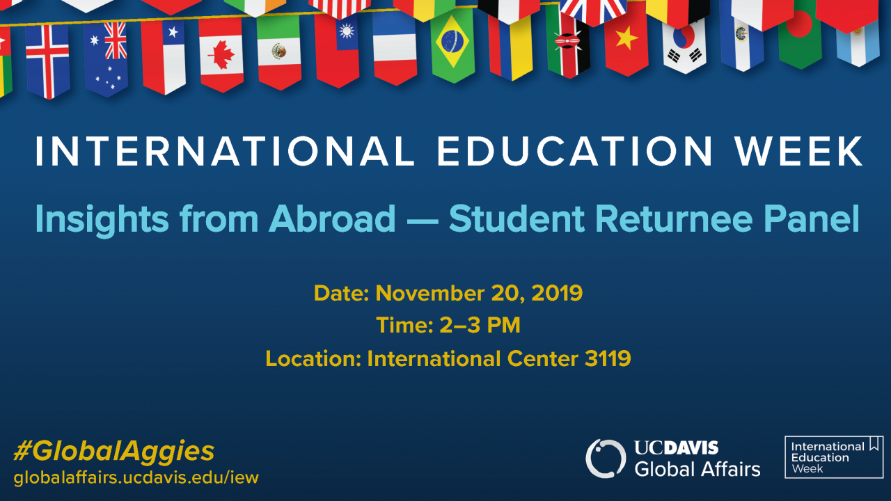 Insights from Abroad IEW 2019