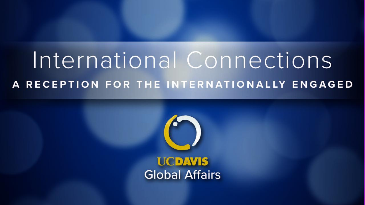 international connections reception design