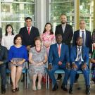 2019-20 UC Davis Hubert H. Humphrey Fellows.