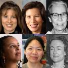 "The ""Remarkable UC Davis Women"" list includes, top row from left: London Breed '97, mayor of San Francisco; Tracy Caldwell Dyson, Ph.D. '97, astronaut; Tani Cantil-Sakauye '80, J.D. '84, chief justice of California; Katherine Esau, Ph.D. '31, botanist and longtime faculty member; and Linda P.B. Katehi, chancellor emerita. Bottom row, from left: Michal Kurlaender, professor and department chair in the School of Education; Beth Rose Middleton '01, associate professor of Native American studies; Julie Sze, pro"