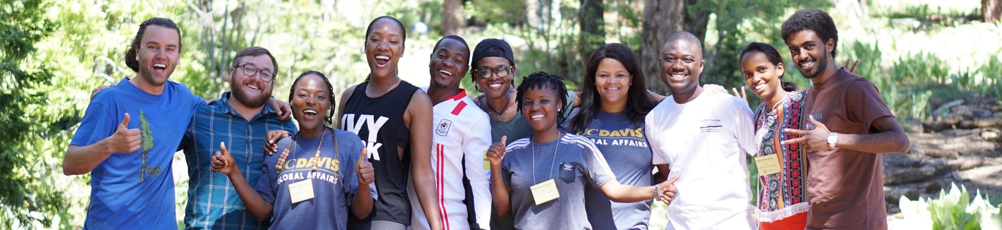 Mandela Fellows in Tahoe