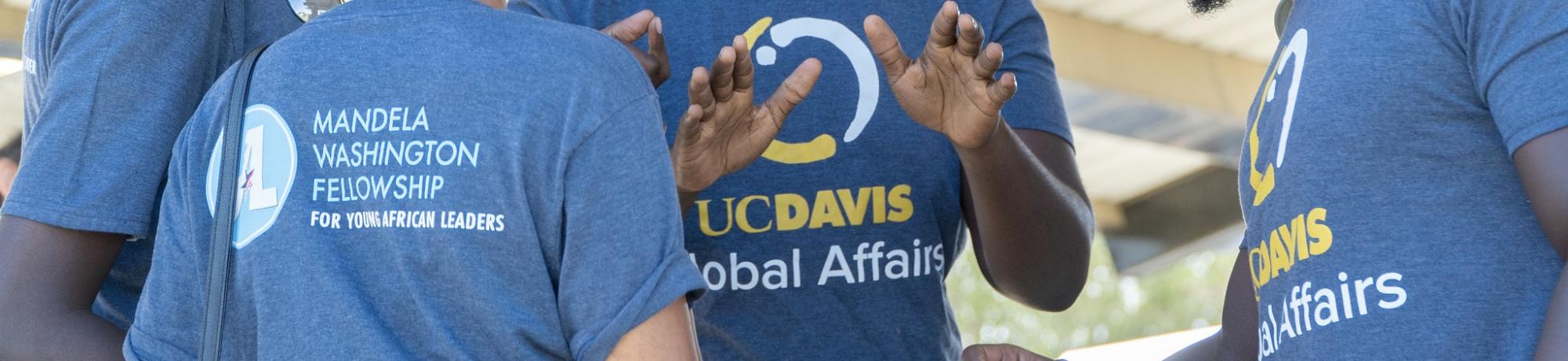 Mandela and Global Affairs t-shirts